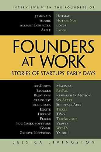 كتب ريادة الأعمال كتاب Founders at Work