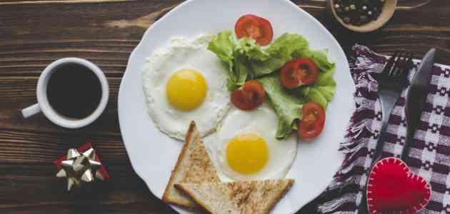 رجيم البيض الكيتوني