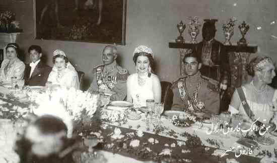 زواج الأميرة فوزية