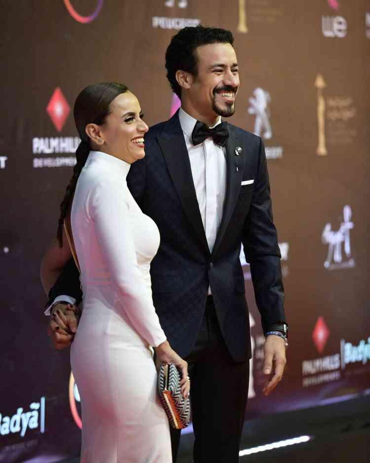أحمد داوود وعلا رشدي في مهرجان القاهرة السينمائي 2019