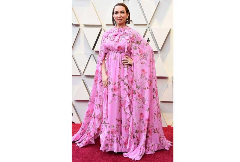 فساتين الأوسكار 2019 فستان مايا رودولف