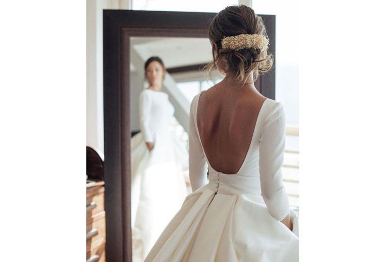 اختيار فستان زفاف مُناسب لمقاسك