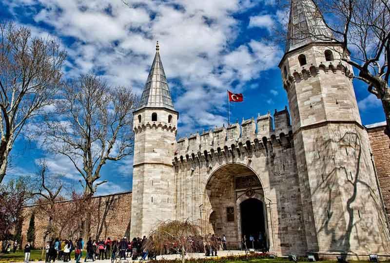 أماكن سياحية في تركيا قصر توبكابي