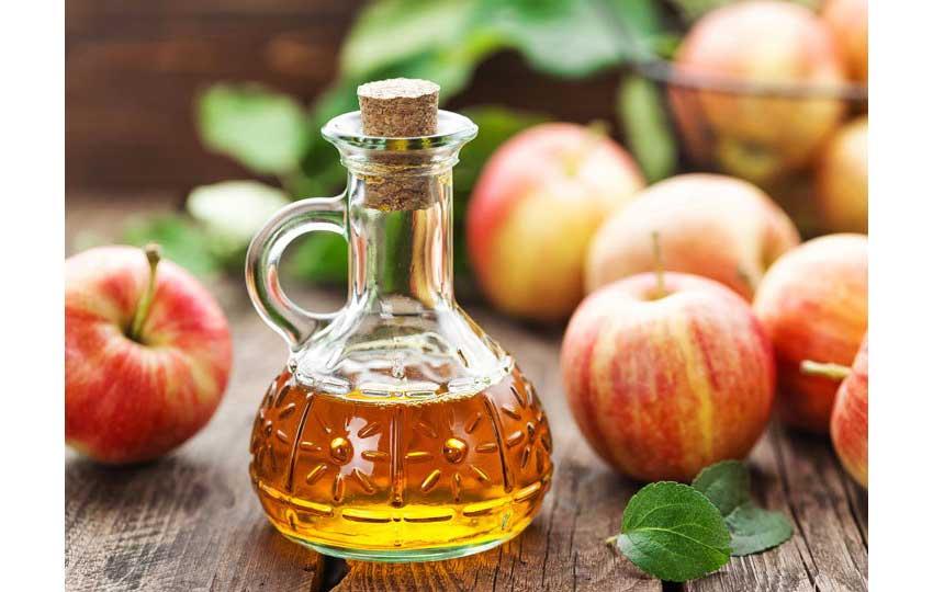 خل التفاح للعناية بالأظافر