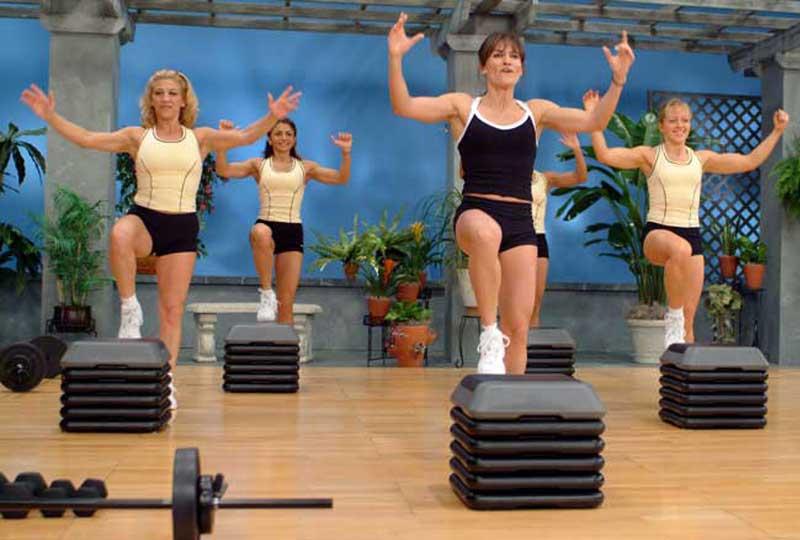 تمارين رياضية لتخسيس الأرداف تمرين السلم