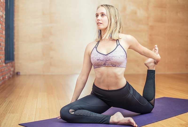 ممارسة التمارية الرياضية