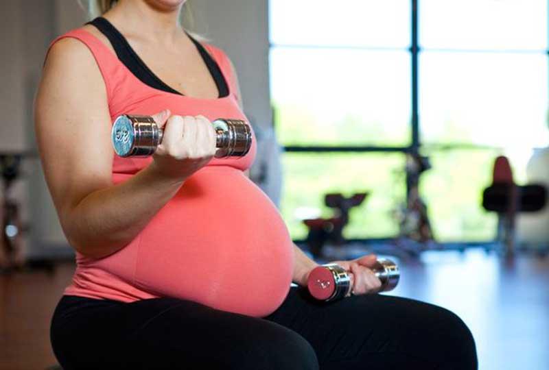 تمارين للحامل تمرين للذراعين