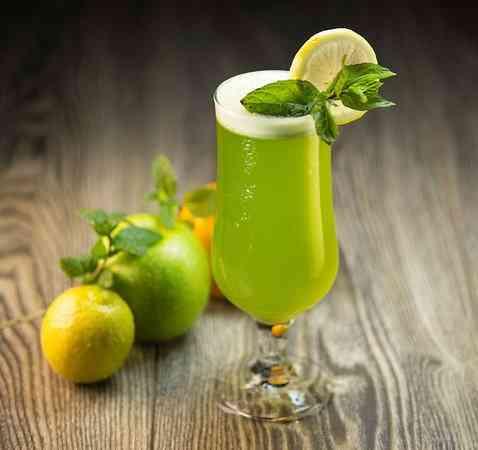 طريقة عمل الليمون بالنعناع