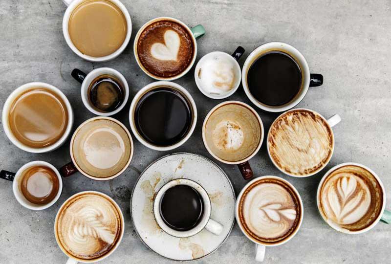 أنواع القهوة الباردة