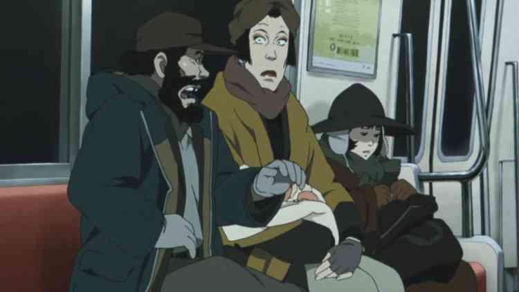 أفلام أنمي يابانية Tokyo Godfathers