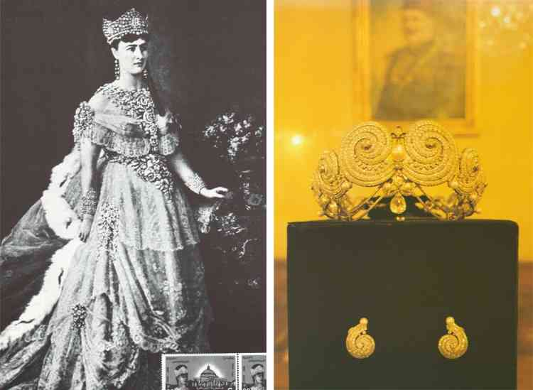 مجوهرات الأميرة فاطمة إسماعيل