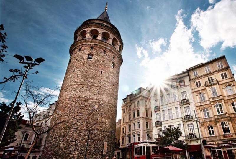 أماكن سياحية في تركيا جالاتا تاور