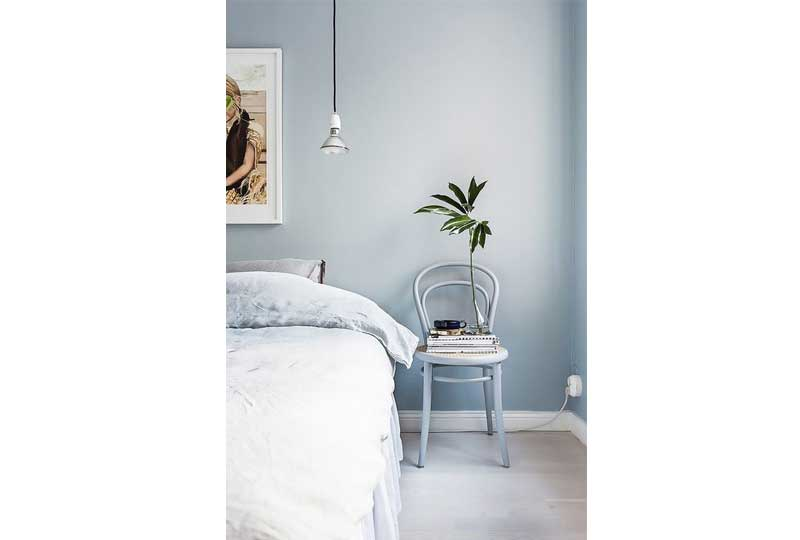 ألوان غرف نوم باللون الأزرق