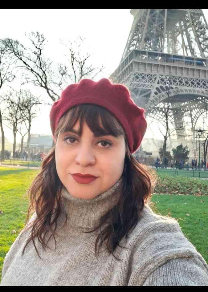 شيماء علي والسفر