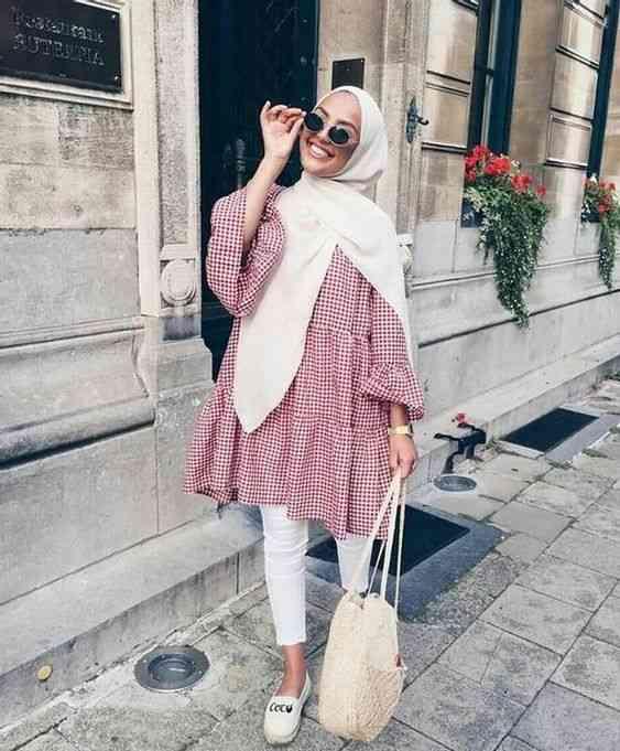 ملابس فضفاضة مناسبة للحجاب