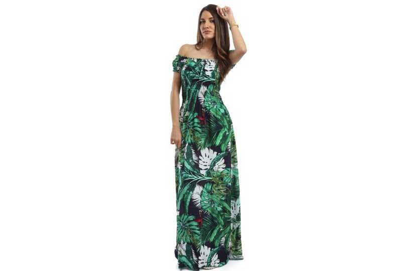 فستان مشجر للبحر