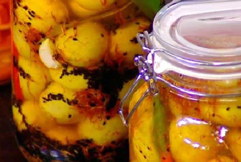 الليمون المخلل