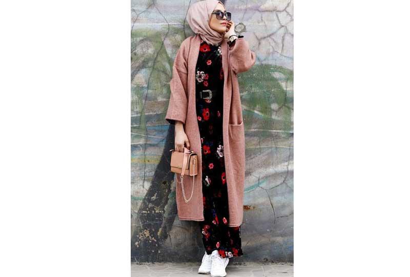 ملابس محجبات كاجوال الكارديجان الطويل