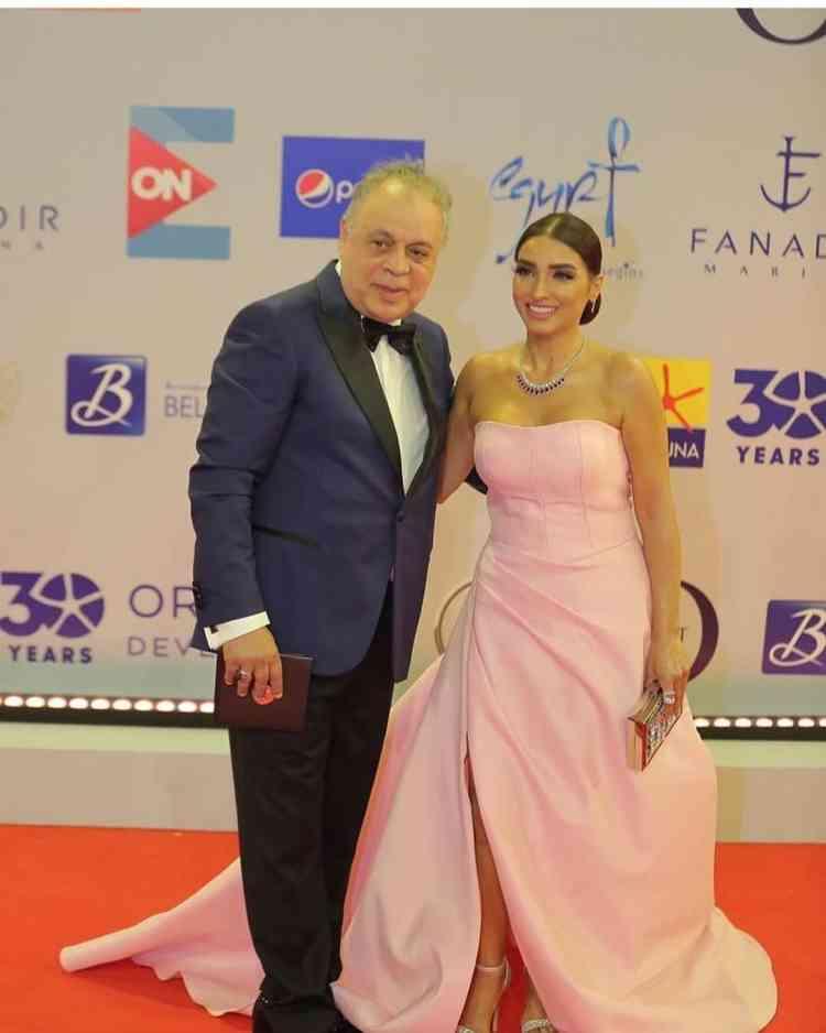 فساتين مهرجان الجونة السينمائي 2019 روجينا وأشرف زكي