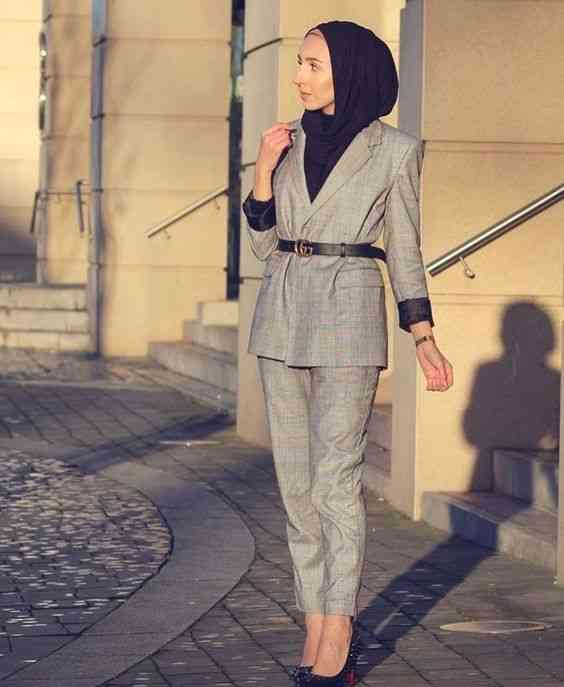 بليزر كاروهات للحجاب