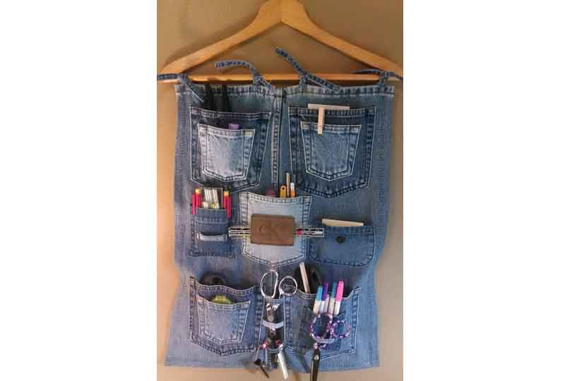 إعادة تدوير الملابس بطرق جميلة