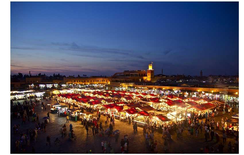 مراكش - ساحة الفنا