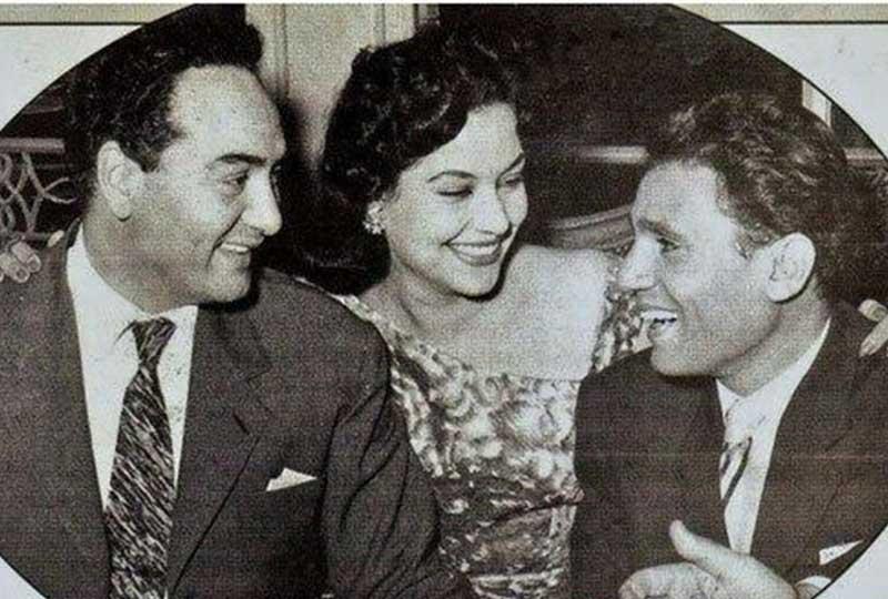 مديحة يسري بين عبد الحليم ومحمد فوزي