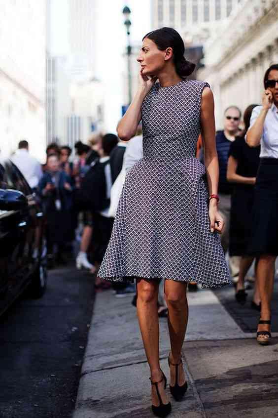 أنواع الفساتين فستان منفوش من الأسفل