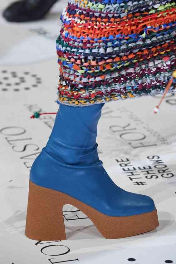 أحذية شتاء 2020 بوت متوسط الطول