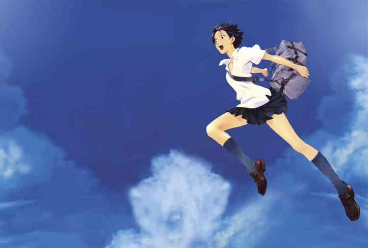 أفلام أنمي يابانية The Girl Who leapt through time
