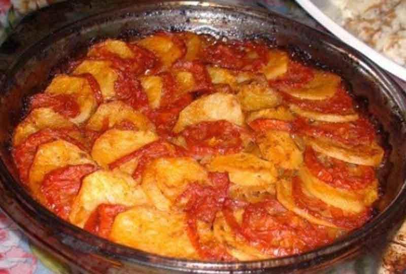 تحضير صينية البطاطس باللحمة