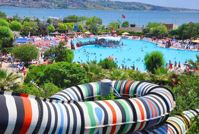 أماكن سياحية في تركيا الأكوامارينا