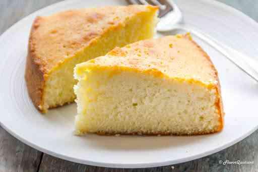 طريقة عمل الكيكة الاسفنجية بالفانيليا