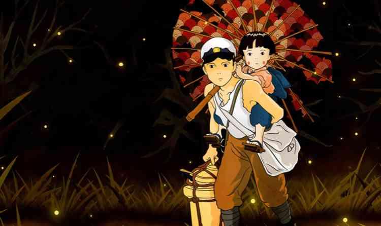 أفلام أنمي يابانية Grave of the Fireflies