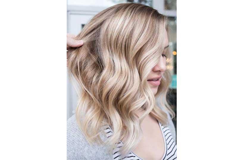 ألوان صبغات الشعر اللون الذهبي الكريمي للشعر القصير