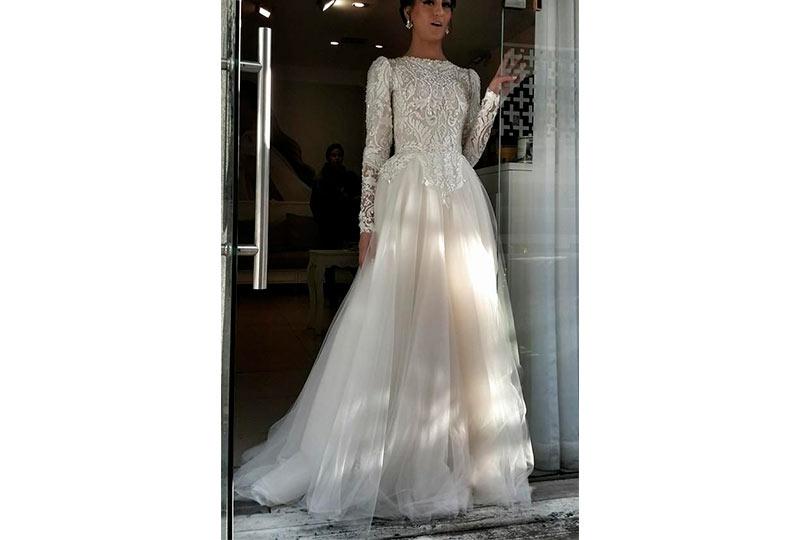 فستان زفاف شيك 2019