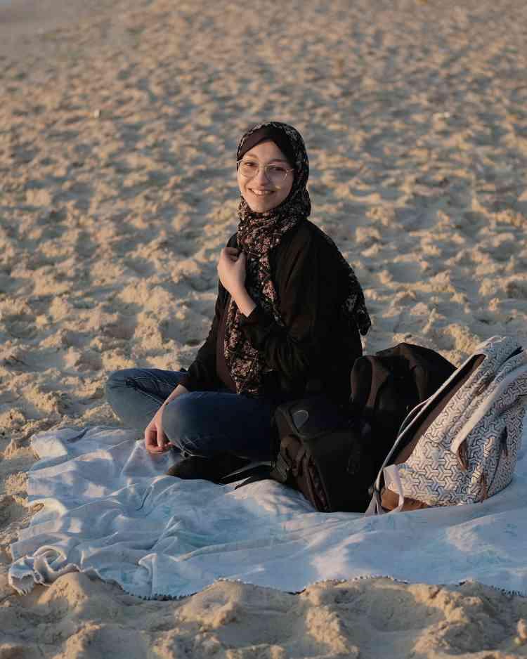 المصورة الفلسطينية فاطمة شبير
