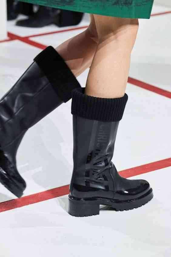 أحذية شتاء 2020 بوت مبطن للمطر