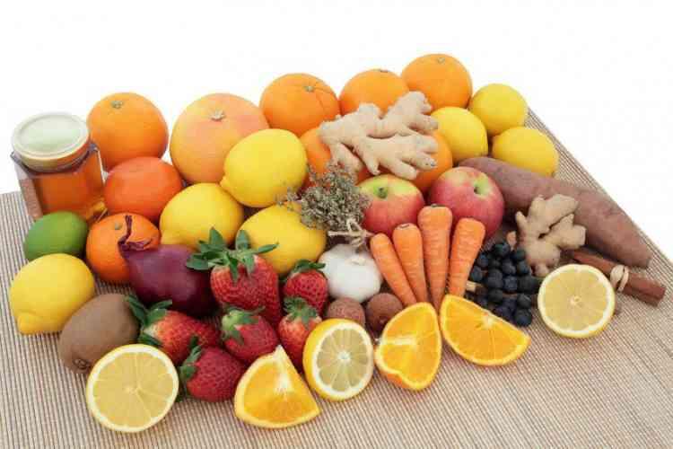 أين يوجد فيتامين سي في الغذاء؟