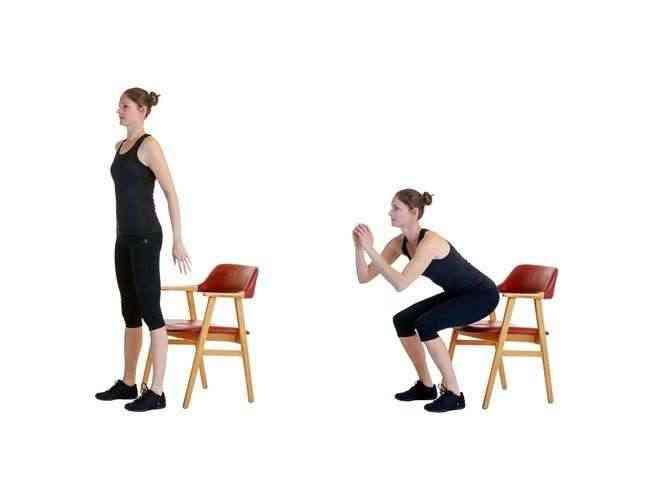 تمارين الكرسي السكواد