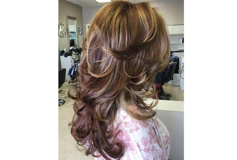 تسريحات شعر للشعر الخفيف أن يكون الشعر مصفف للخارج
