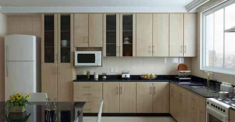 مطبخ الوميتال خشب