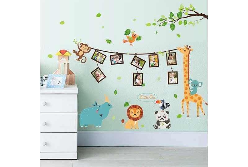 تجديد غرف الأطفال بالرسومات