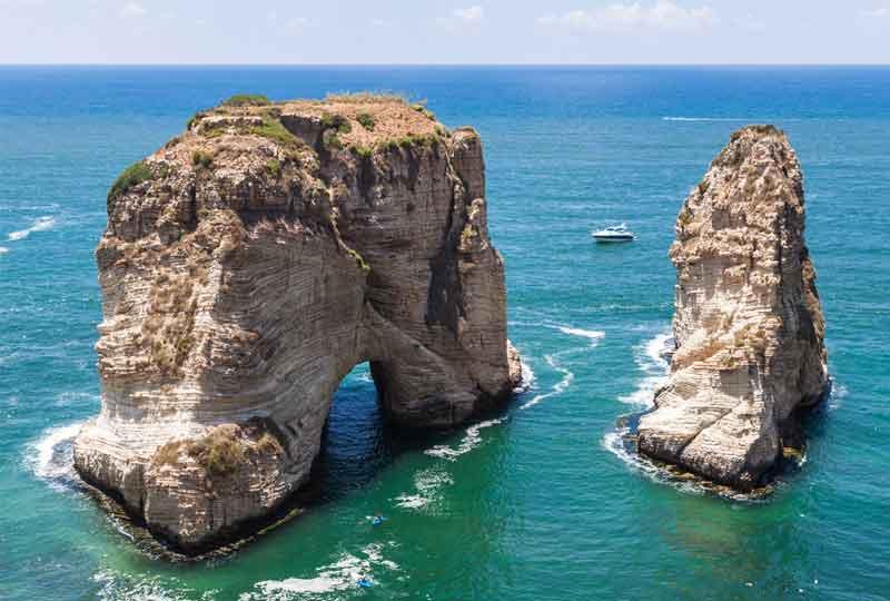مدن عربية سياحية بيروت