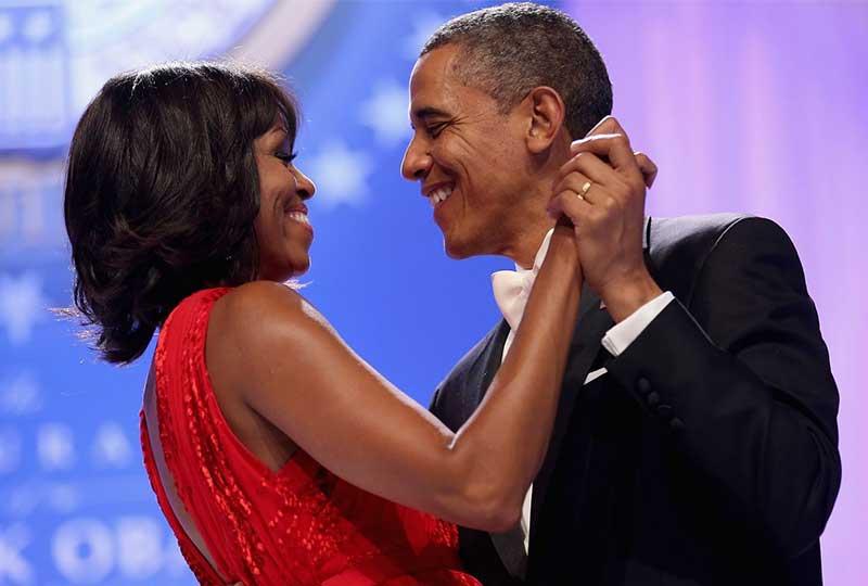 ميشيل وباراك أوباما