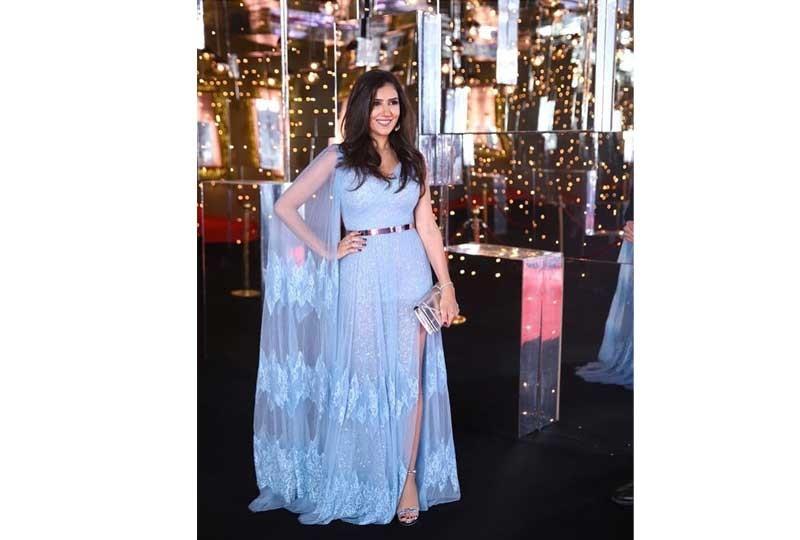 فستان مي عمر في مهرجان الجونة 2018