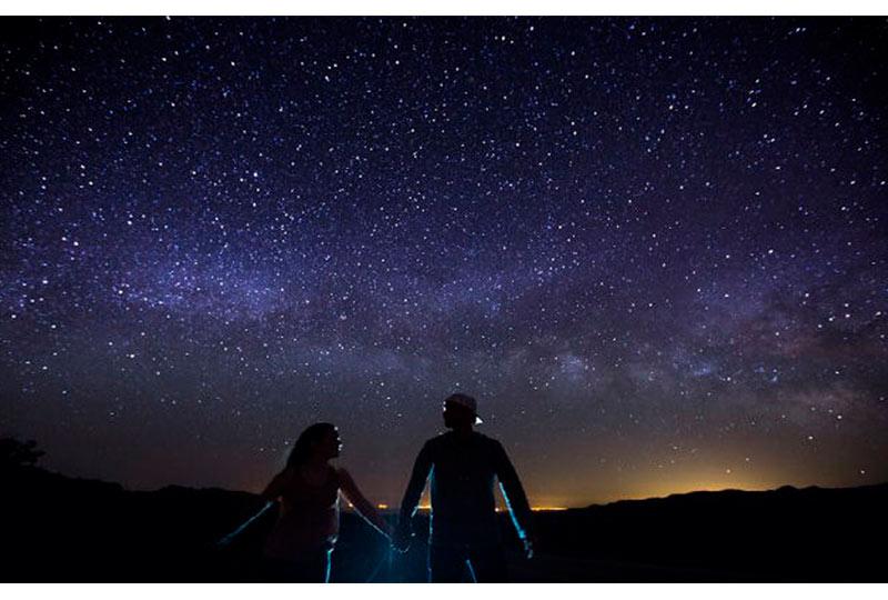 مشاهدة النجوم
