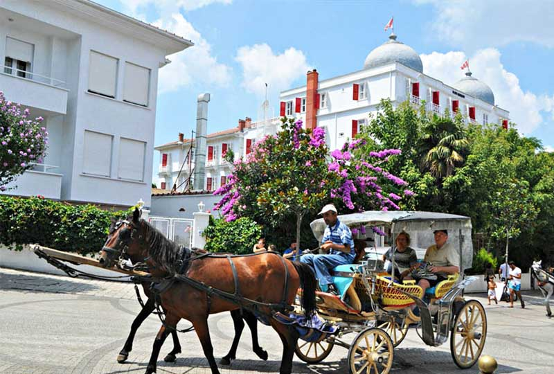 أماكن سياحية في تركيا جزيرة الأميرات