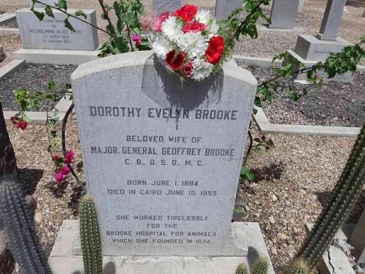 قبر دوروثي بروك