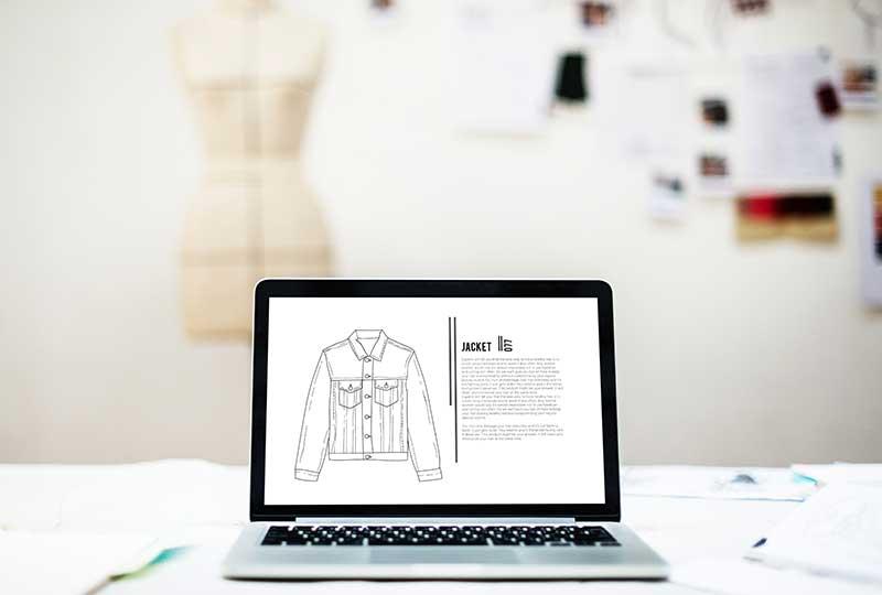 العمل في مجال تصميم الأزياء